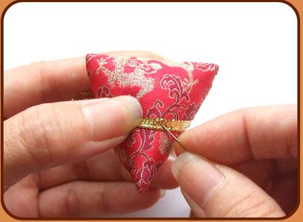 蝴蝶粽子步骤图解